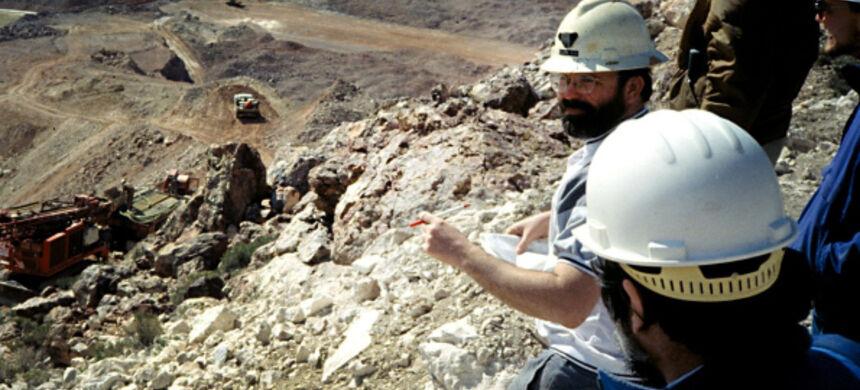 Segurança em trabalhos de mineração