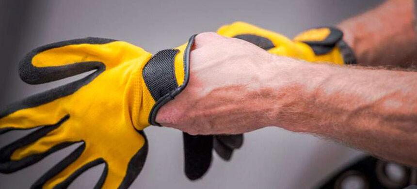 Proteção para as mãos e dicas para evitar futuros acidentes