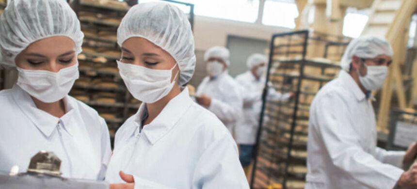 EPI's indispensáveis na indústria alimentícia
