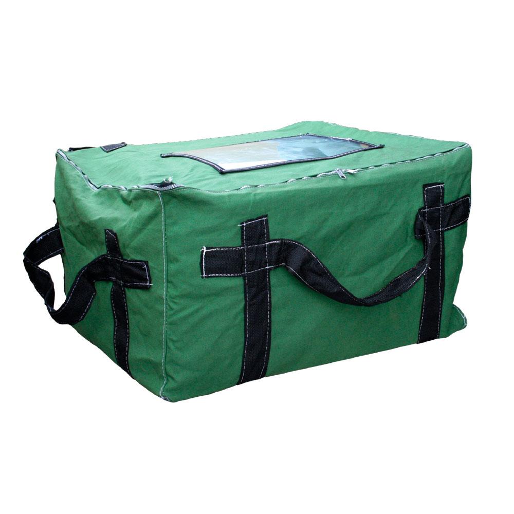 Bolsa em Lona Verde